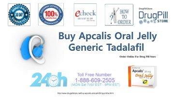 Generic Tadalafil Buy Apcalis jelly Online