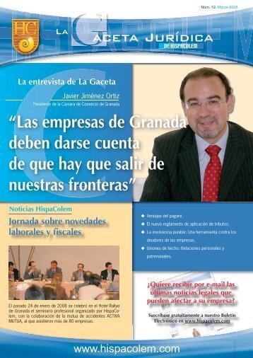 LA GACETA JURIDICA 12.indd - HispaColex