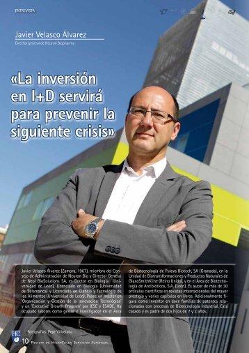 «La inversión en I+D servirá para prevenir la siguiente ... - HispaColex
