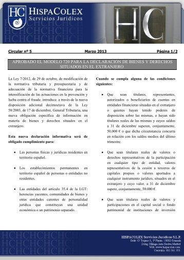 modificaciones del plan estatal de vivienda 2005-2008 - HispaColex