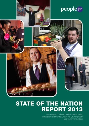 State of the NatioN RePoRt 2013 - People 1st