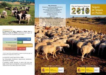 Folleto de Seguro de Sequía en Pastos 2010
