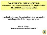 (UPM) - D. José María Sumpsi Viñas