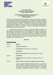 Foro Internacional - FES Ecuador