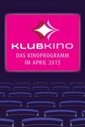 KlubKino-Programm April 2015