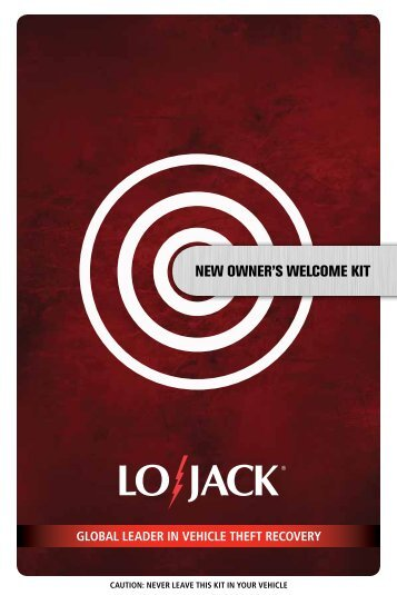 to download your Client Manual - Lojack