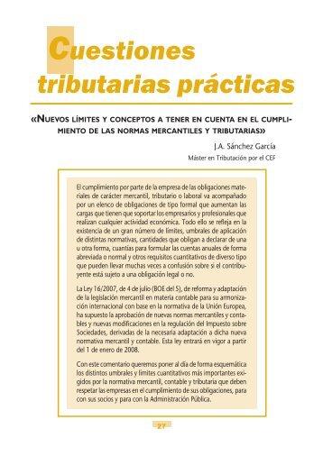 Cuestiones Tributarias 108-109.pdf - Fiscal impuestos