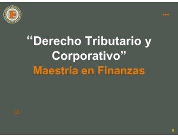 Derecho TributarioOK - Interejecutivos
