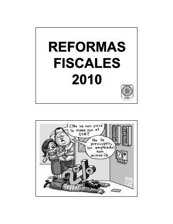 216-REFORMAS FISCALES 2010 M.pdf - Interejecutivos