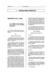 I.— DISPOSICIONES GENERALES - Ayuntamiento de Toledo