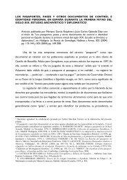 Los pasaportes (PDF) - Ayuntamiento de Toledo