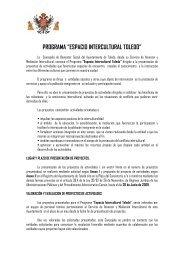 """programa """"espacio intercultural toledo"""" - Ayuntamiento de Toledo"""