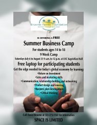 Summer Business Camp