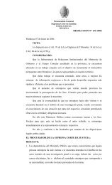 RESOLUCION N° 131 /2006 Mendoza, 07 de Junio de 2006. VISTO ...