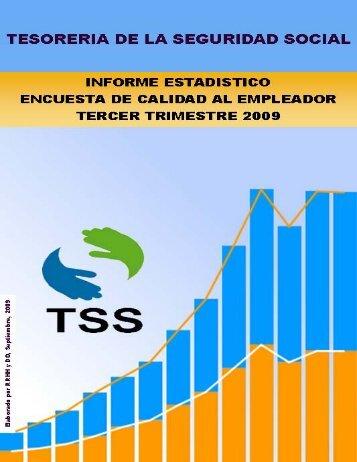 Resultado Encuesta Calidad en el Servicio | Sept. 2009 - TSS
