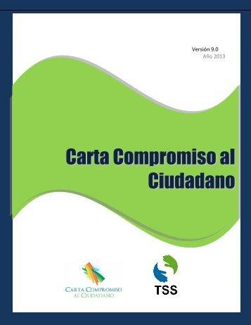 CARTA COMPROMISO AL CIUDADANO - TSS
