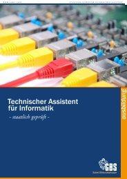 Sabel GBS Technischer Assistent für Informatik