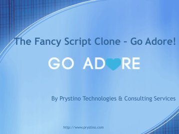 The Fancy Script Clone – Go Adore!