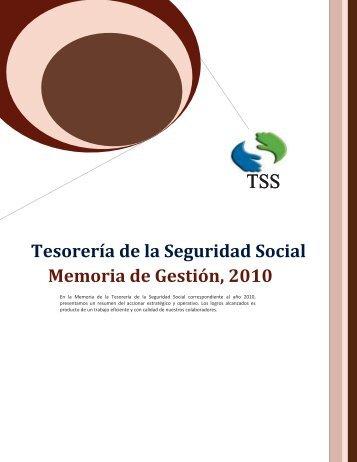 Memorias del año 2010 - TSS