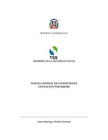 PROCURADURIA GENERAL DE LA REPUBLICA DOMINICANA - TSS