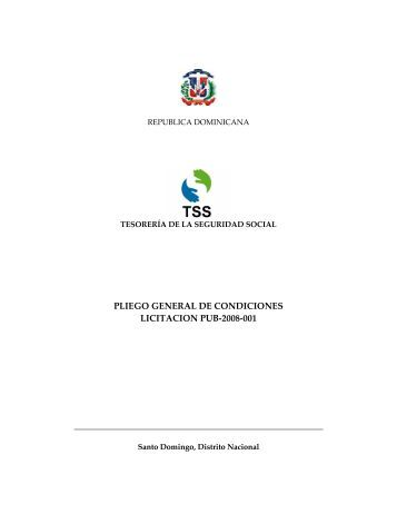 PROCURADURIA GENERAL DE LA REPUBLICA DOMINICANA - TSS