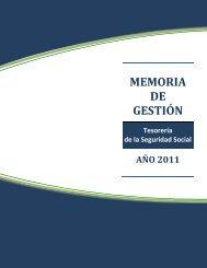 MEMORIA DE GESTIÓN - TSS