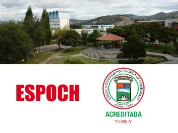 """CLASE A"" - Escuela Superior Politécnica de Chimborazo"