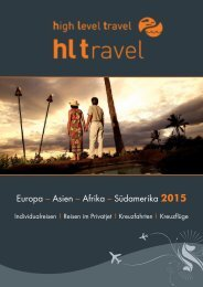 HL TRAVEL Katalog 2015