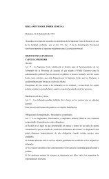 REGLAMENTO DEL PODER JUDICIAL - Poder Judicial de Mendoza
