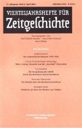Heft 2 - Institut für Zeitgeschichte
