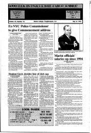 Vol. 46 No. 17, May 4, 1995 - James A. Cannavino Library - Marist ...