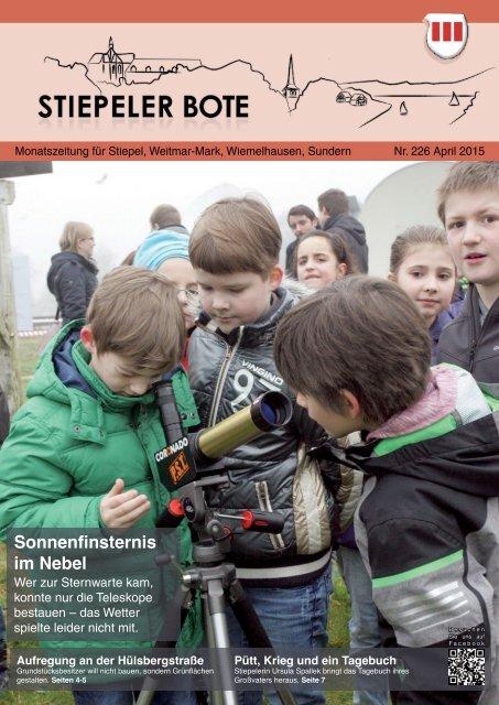 Stiepeler Bote 226 - April 2015