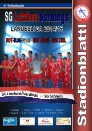 Stadionblattl SG Latzfons/ Verdings - SG Schlern