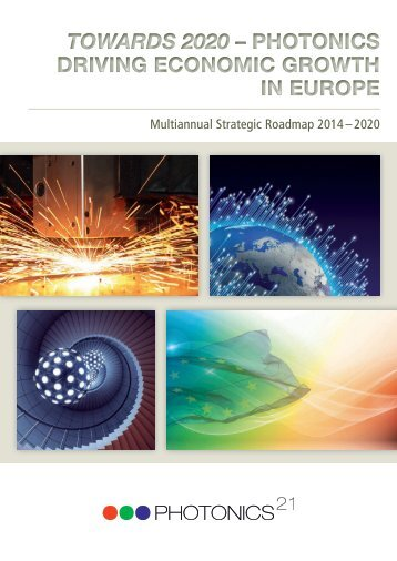 Towards 2020 – Photonics driving economic growth in Europe