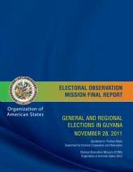 general and regional elections in guyana electoral observation ...
