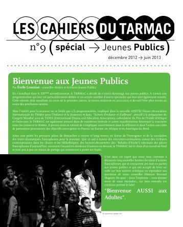 Le cahier Jeunes Publics (PDF) - Le Tarmac