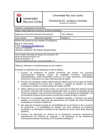 Economía Financiera Internacional - FCJS - Universidad Rey Juan ...