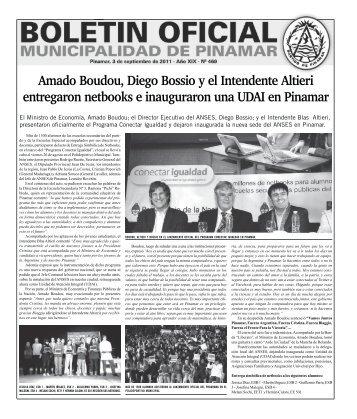 Boletin Oficial - 3 de Septiembre de 2011 - Año XIX - Nº 469