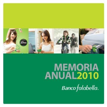 Memoria Anual - Banco Falabella