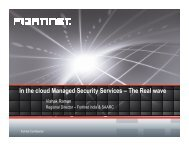 In the cloud Managed Security Services – The Real wave