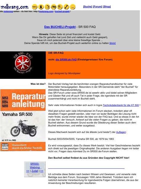 Fussrasten Satz Yamaha hinten Sozius XT 600 XT 250 XT 500 XT 550 12MM li+re NEU