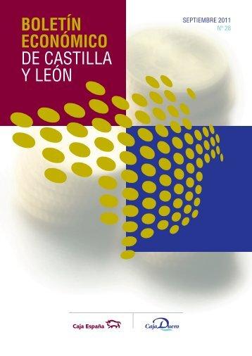 BOLETÍN ECONÓMICO DE CASTILLA Y LEÓN - Caja España-Duero