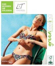 Wasserspiele bei L+T - Bademoden des Sommers 2015 - greenFeeling