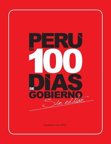 Perú en 100 días de Gobierno - snip