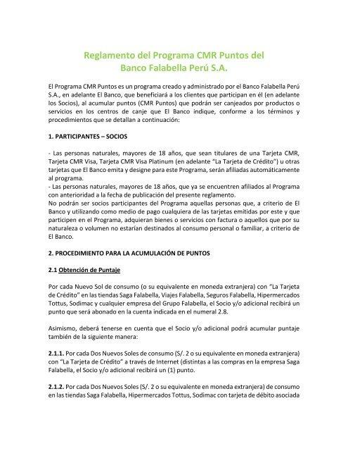 e40475b143f74 reglamento - Banco Falabella