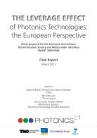 of Photonics Technologies: the European Perspective The Leverage Effect - Page 3