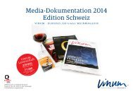 Media-Dokumentation 2013 Edition Schweiz