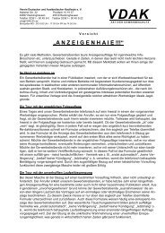 """A N Z E I G E N H A I E !!!"" - Verlag Deutsche Polizeiliteratur"