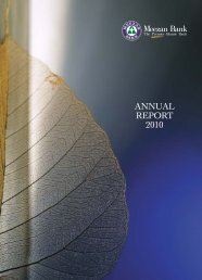 ANNUAL REPORT 2010 - Meezan Bank
