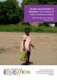 Gender Discrimination in Education: The violation of rights of women ...